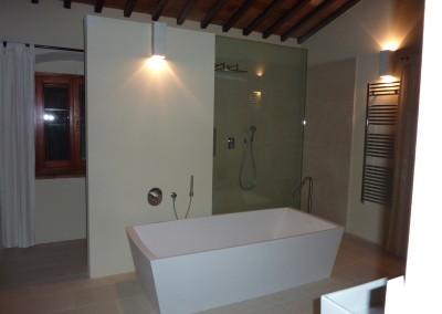 Bagno in villa